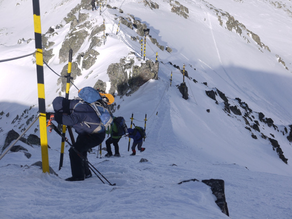 Gipfelabstieg