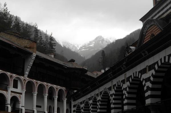 Im Rila-Kloster
